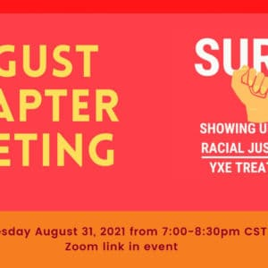 SURJ-YXE - Standing Up for Racial Justice Saskatoon - Chapter Meeting