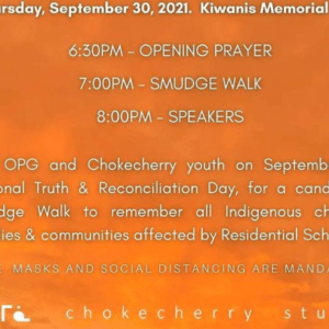 Chokecherry - National Truth and Reconciliation Day